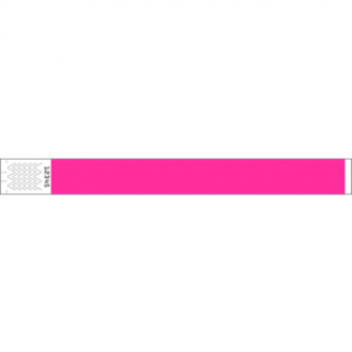 Wrist Bands 25mm Pink 50pk
