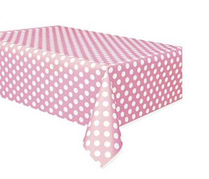 Table Cover Rectangle - Dots Lovely Pink