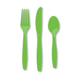 Plastic Lime Knives 25pk
