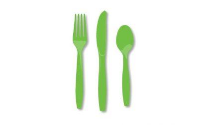 Plastic Lime Knives 25pk