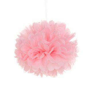 Tissue Paper Pom Pom 40cm - Pale Pink