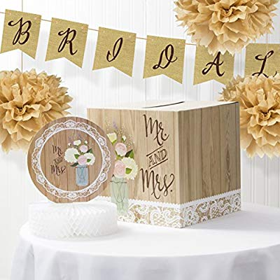 Rustic Bridal Shower Banner