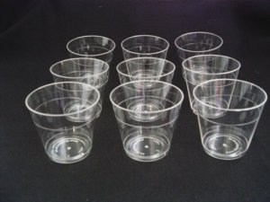 Plastic Shot Glasses / Sample Glass 25pk