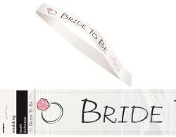 Bride to Be Sash - White