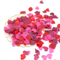 Scatter Confetti Heart - Pink & Red