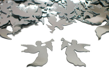 Scatter Confetti Angels Silver
