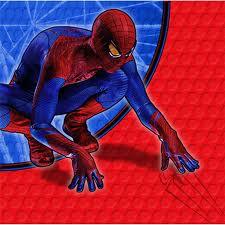 Spiderman Napkins 16pk