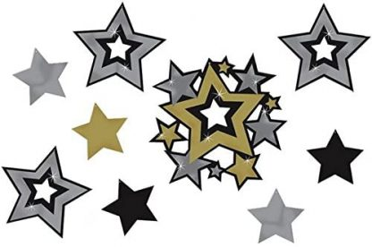 Assorted Star Cut Out