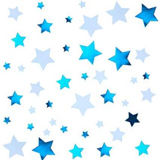 Scatter Confetti Star - Blue Mix