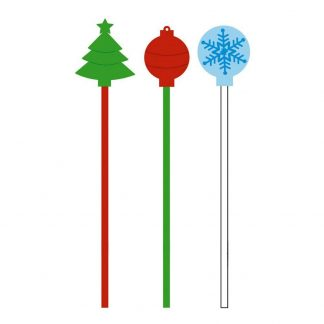 Christmas Drink Stirrers 20pack