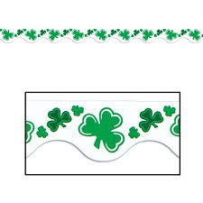 St. Patricks Border Trim 11m