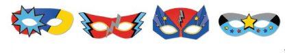 Superhero Masks 8pk