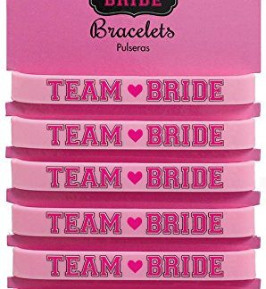 Team Bride Bracelets 6pk
