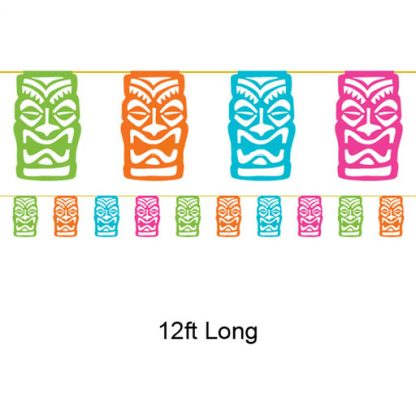 Tiki Banner - Hawaiian Luau