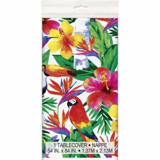 Tropical Luau Table Cover