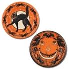 Halloween Plates black Cat