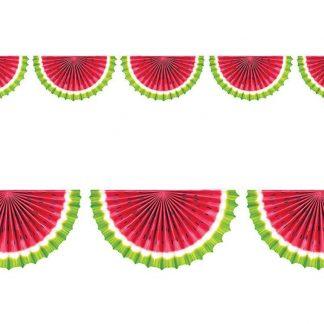 Watermelon Fan Bunting