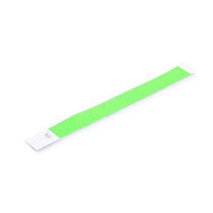 Wrist Bands 25mm Lime Green 50pk