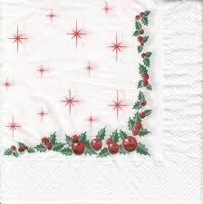 Christmas Napkins 2ply 100pk
